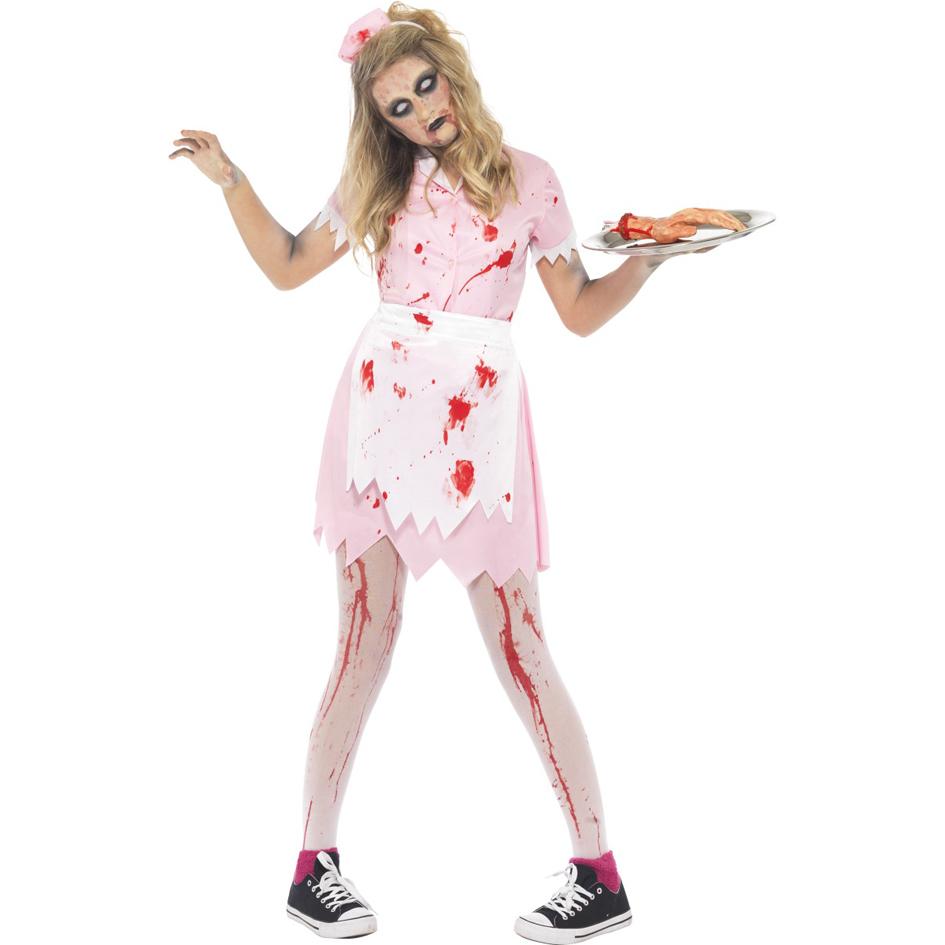 Легкий костюм на хэллоуин своими руками для девушки
